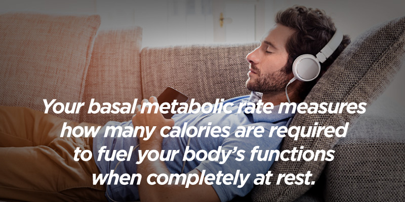 your bmr measures how many calories your body requires