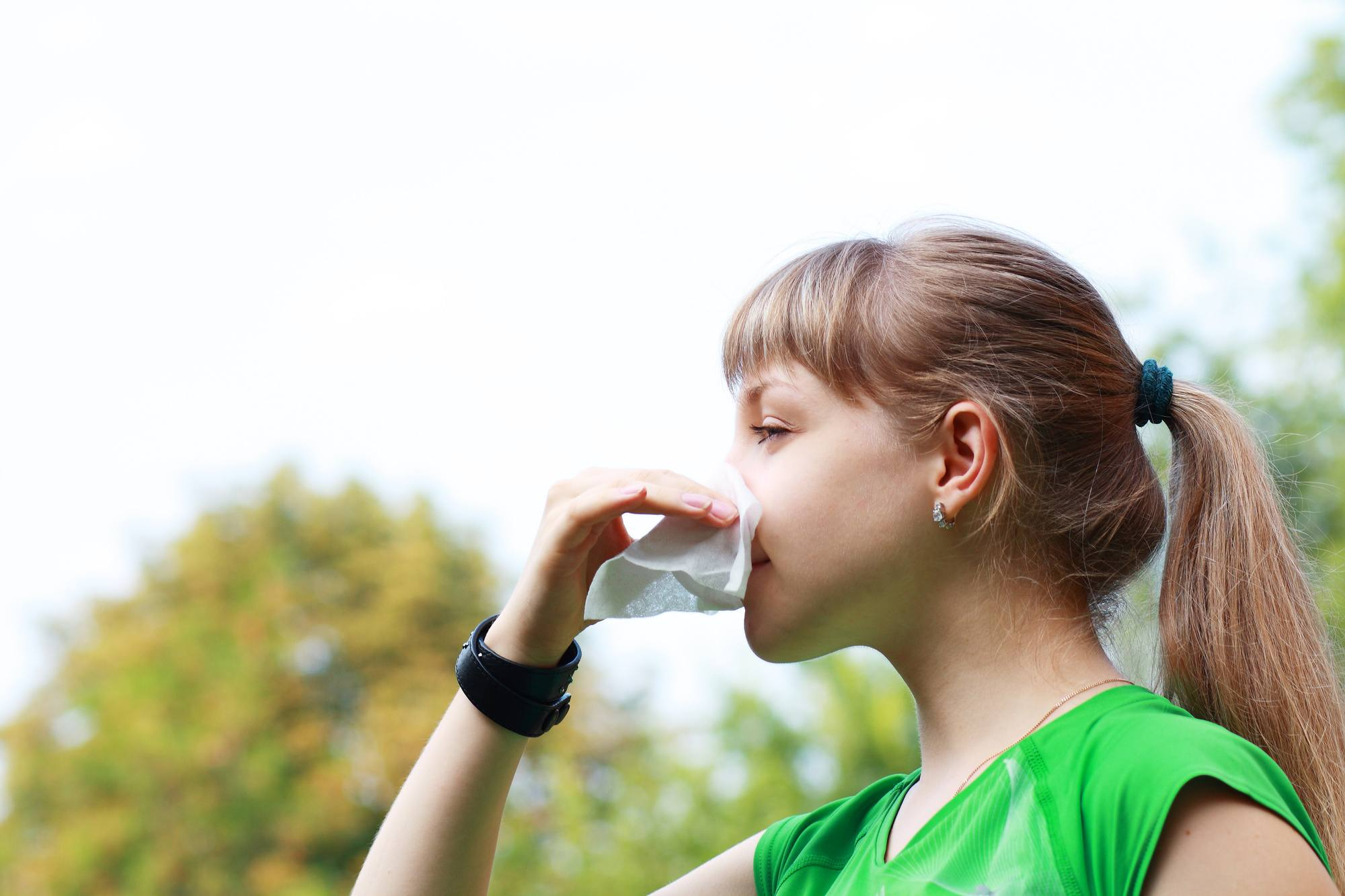 Fall Allergies Affecting Your Workout?