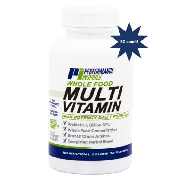 PI multivitamin front 90 count start burts 1
