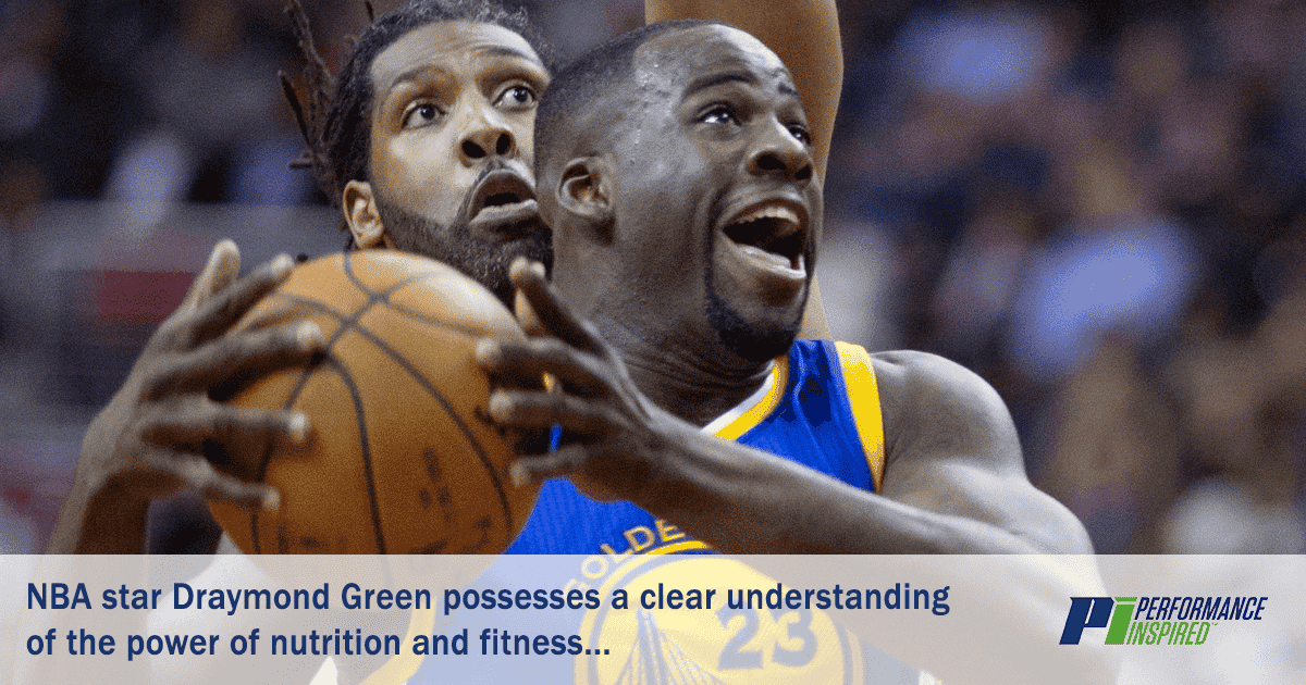 PI Nutrition - Draymond Green Team Up for Successful Basketball Season