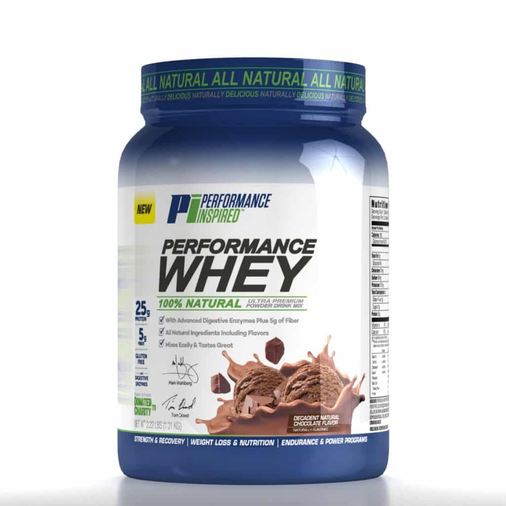 Performance Whey Powder from PI Nutrition