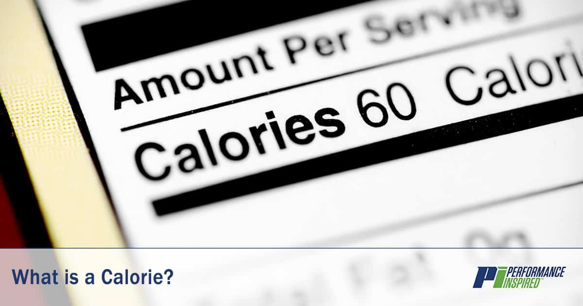 PI Nutrition: Definition of Calories
