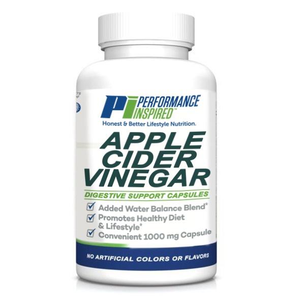 PI Nutrition apple cider vinegar supplement bottle
