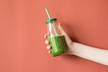pistachio protein shake