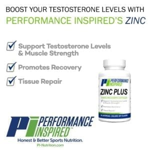 performance inspired nutrition zinc plus supplements