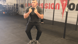 BOSU Ball Exercise Compression Squat
