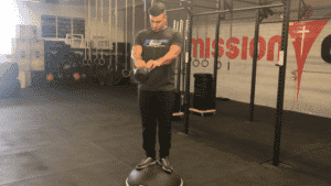 BOSU Ball Exercise Compression Swing