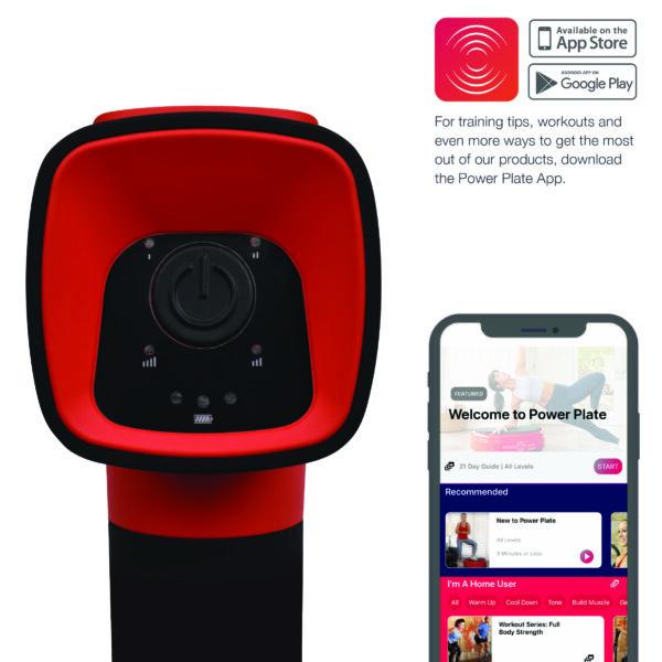 4 Pulse Red Back w app
