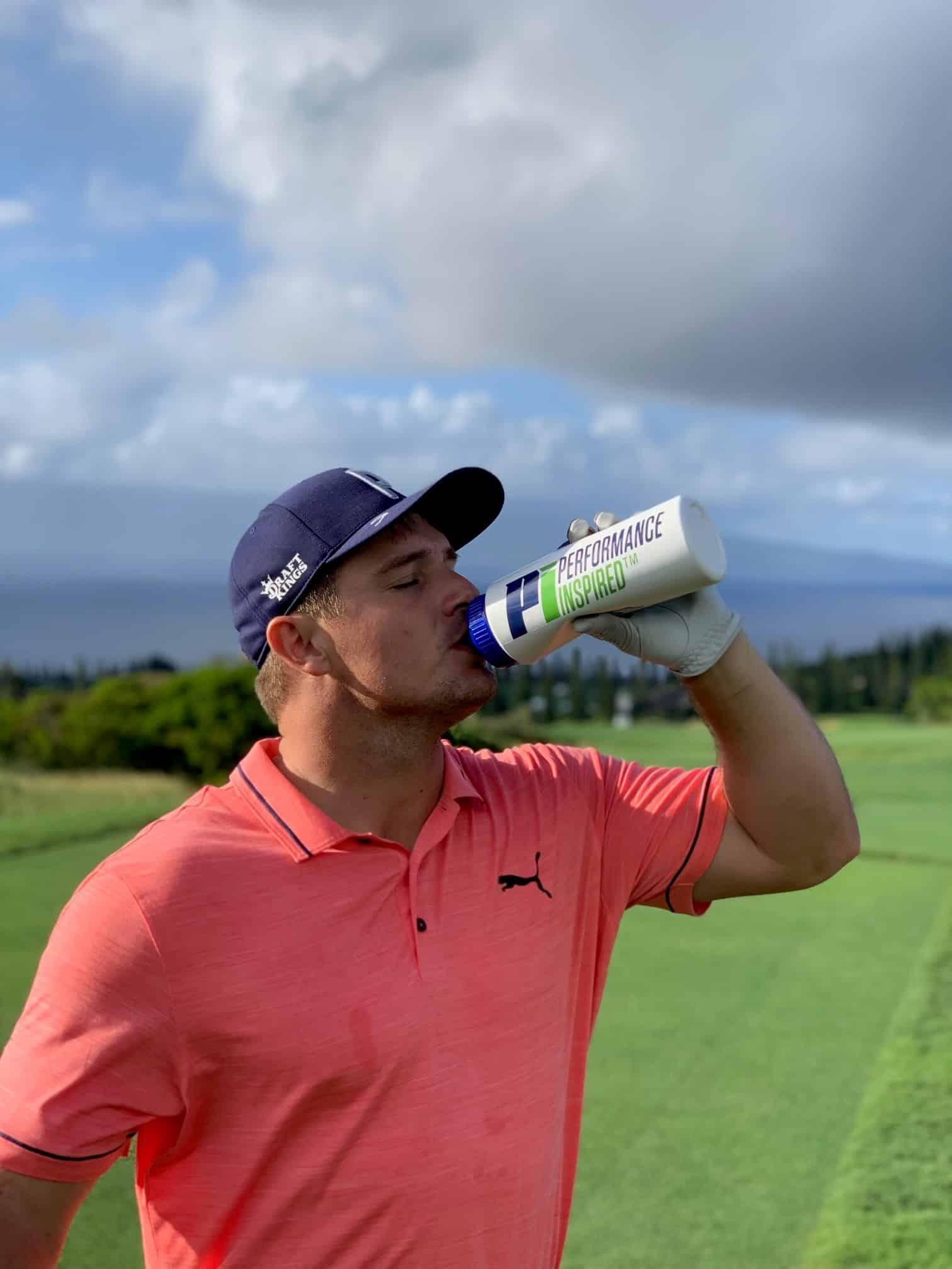 Bryson Dechambeau water bottle image