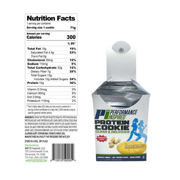 PCPB Nutrition Facts
