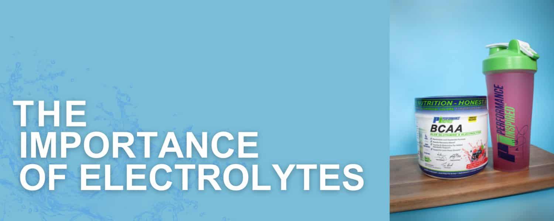 Importance of Electrolytes 1